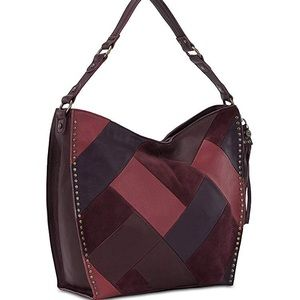 NEW The SAK Silverlake Patchwork Hobo
